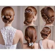 tutorial rambut gaya rambut romantis untuk resepsi pernikahan hair style