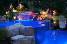 Install Landscape Lighting - how to install landscape lighting blue led lighting dugas landscape