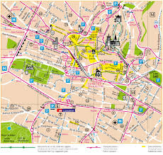 Boston Road Map by Lausanne City Center Map