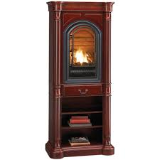 Vent Free Lp Gas Fireplace by Hearthsense Liquid Propane Ventless Gas Tower Fireplace 20 000