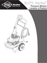 briggs u0026 stratton pressure washer 01802 01804 user guide