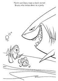 sharks coloring pages finding nemo shark coloring sheet coloring pages pixar colouring