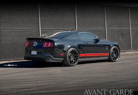 Mustang Black Matte 20
