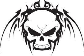 free skull tattoo designs to print