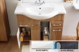 Free Standing Vanity Units Bathroom White Contemporary Vanity Unit Bibiana White Modern Bathroom
