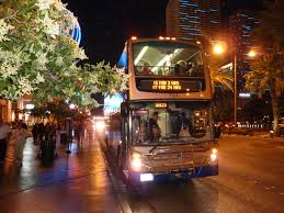 The Deuce Las Vegas Route Map by Guide To Taking A Bus In Las Vegas