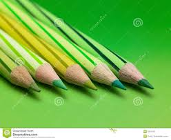 green color pencils royalty free stock image image 5257476