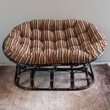 furniture solid brown double papasan chair frame for home black rattan double papasan chair frame with gorgeous cushion for home furniture ideas