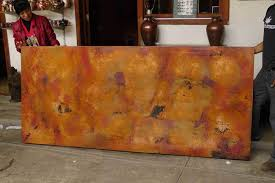 Mexican Dining Room Furniture Hammered Copper Dining Table Top 1 20 U2014 Custom Hammered Copper