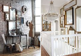 mirror gallery walls