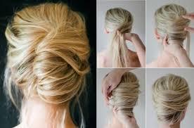Hochsteckfrisuren Mittellange Haar Einfach by Einfache Hochsteckfrisuren Zum Selber Machen Fã R Lange Haare