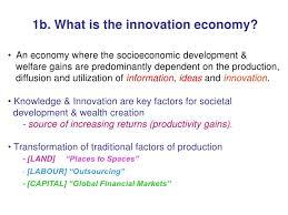 innovation led economy the malaysian experience
