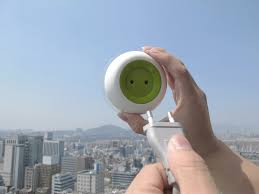 solar powered sockets that you can stick to your window