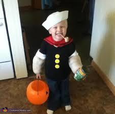 Popeye Halloween Costume Homemade Popeye Costume