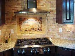 italian tile murals tuscany backsplash tiles ideas kitchen trends