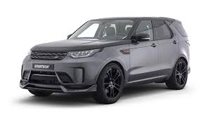 land rover discovery black startech body kit gives land rover discovery a sporty makeover
