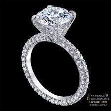 pave engagement rings images Michael b jewelry luxury pave engagement ring jpg