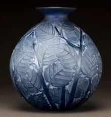 Lalique Vase With Birds René Lalique 1860 1945 Cire Perdue Glass Vase Glass