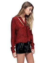 scarf blouse scarf blouse leopard amiri