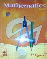 mathematics class 8 buy mathematics class 8 by aggarwal r s