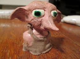 clay bust dobby house elf 5 steps pictures