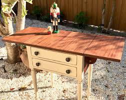Wooden Drop Leaf Table Drop Leaf Tables Etsy