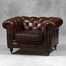Traditional Leather Armchairs Uk Vintage Leather Chesterfield Armchair Furniture4yourhome