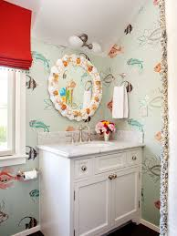 wallpaper designs for bathrooms wallpaper with fish on it for walls gallery