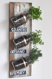 Indoor Herbal Garden Transformed Mason Jar Herb Garden Camille Styles