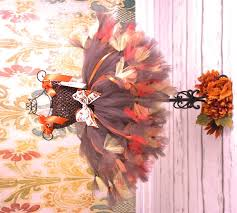 thanksgiving harvest baby couture tutu dress baby