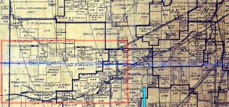 Fort Worth Map The Fort Worth Gazette 1917 Pre Bankhead Highway Roads In West