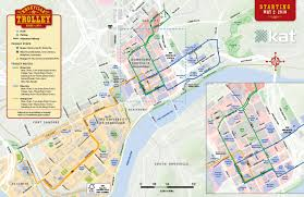 Tennessee City Map by New Downtown Trolley Routes Begin May 2 City Of Knoxville