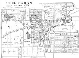 Map Of St Louis Dogtown 1878 Map Of Cheltenham