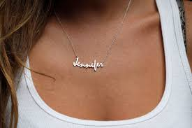 personalized script necklace i want something like this but in gold put my name in arabic دنيس