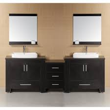 Design Element DECD Washington In Double Bathroom Vanity - Bathroom vanities double sink 2