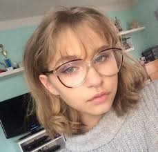 short hairstyles with glasses and bangs pinterest brunettetwin98 instagram jennykwhite h a i r