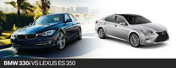 bmw es bmw 330i sedan vs 2017 lexus es 350 sedan in pembroke pines fl