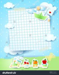 baby shower invitation vector background stock vector 112006331