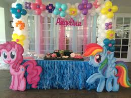 birthday decorations my pony birthday decoration party decoration ideas