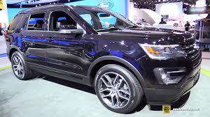 Ford Explorer Interior Dimensions 2016 Ford Explorer 4wd Exterior And Interior Walkaround 2015