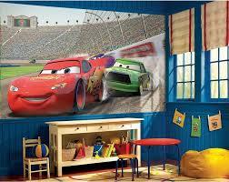 Lighting Mcqueen Bedroom Lightning Mcqueen Wall Bedroom Modern With Disney Cars Comfy Throw