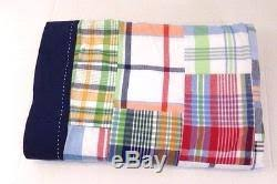Pottery Barn Madras Curtains Pottery Barn Madras Plaid Shower Curtain Multi Color No