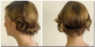 model sanggul rambut pendek cara membuat sanggul rambut pendek tanpa alat salon info fashion