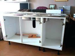meuble bas evier cuisine meuble d evier cuisine meuble sous evier 4 portes meuble bas evier