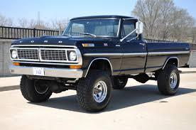Ford F250 Pickup Truck - 1970 ford f250 napco 4x4