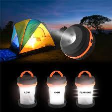 multifunction retractable outdoor cing lights led flashlight