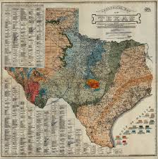 Davis Map Geological Map Of Texas Showing Approximate Locations And Drilling