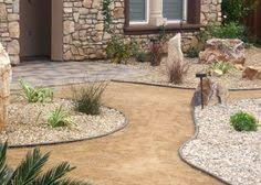 Desert Backyard Landscaping Ideas Rock Lawns Are Very Interesting Modern And Attractive In Desert