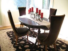 Dining Table Candles Decorating Dining Room Table With Candles Dining Room Decor