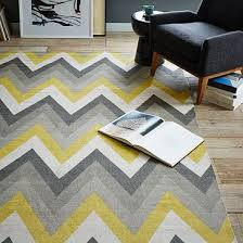 Large Chevron Rug Yellow And Grey Chevron Rug Roselawnlutheran